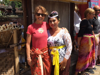 Lessons from Bali - Me and Iheni