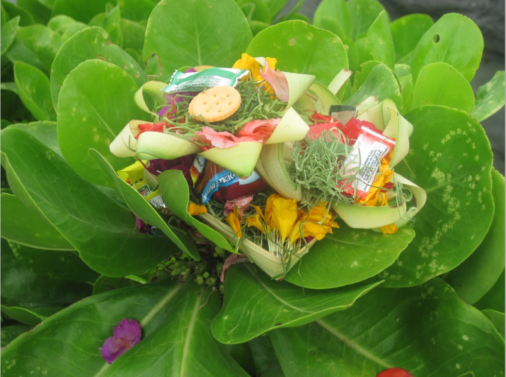 Lessons from Bali - offerings