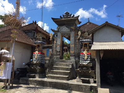 Lessons from Bali - temple