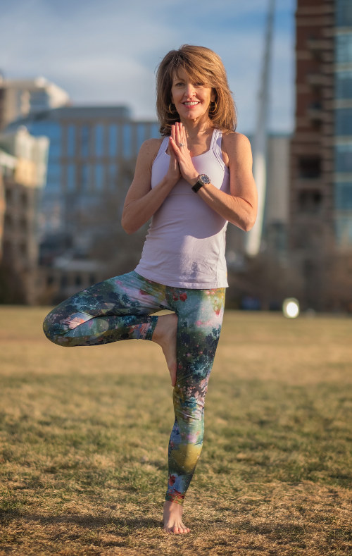 Diane tree pose yoga