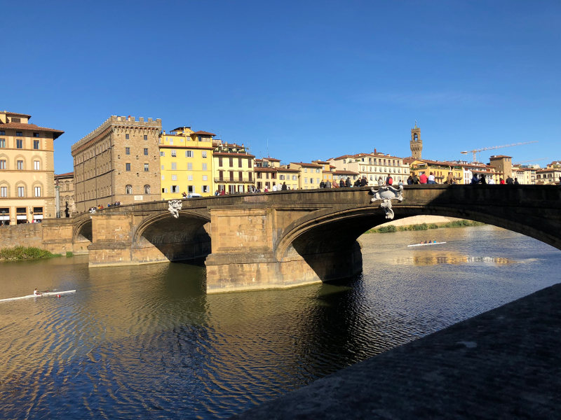 Holy Trinity Bridge Italy