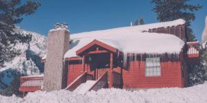 Mountain cabin for writing retreat