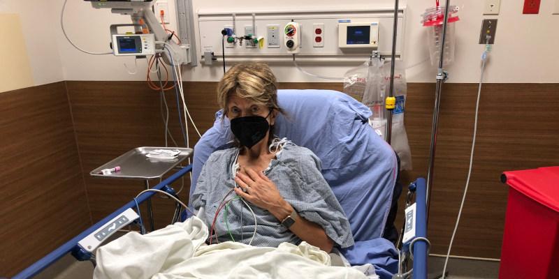 Diane Sieg in the ER